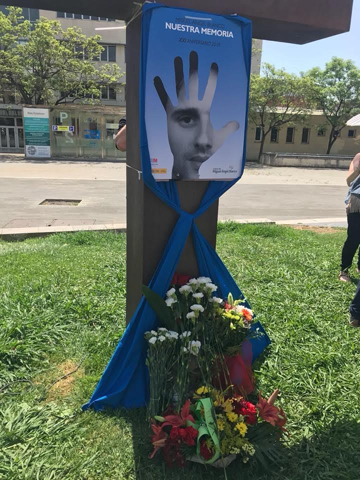Acto de homenaje y recuerdo a Miguel Angel Blanco y a todas las victimas del terrorismo