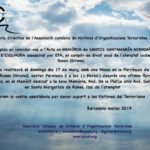 Missa en memòria de Santos Santamaría Avendaño