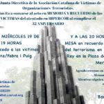 32 años del brutal atentado en Hipercor