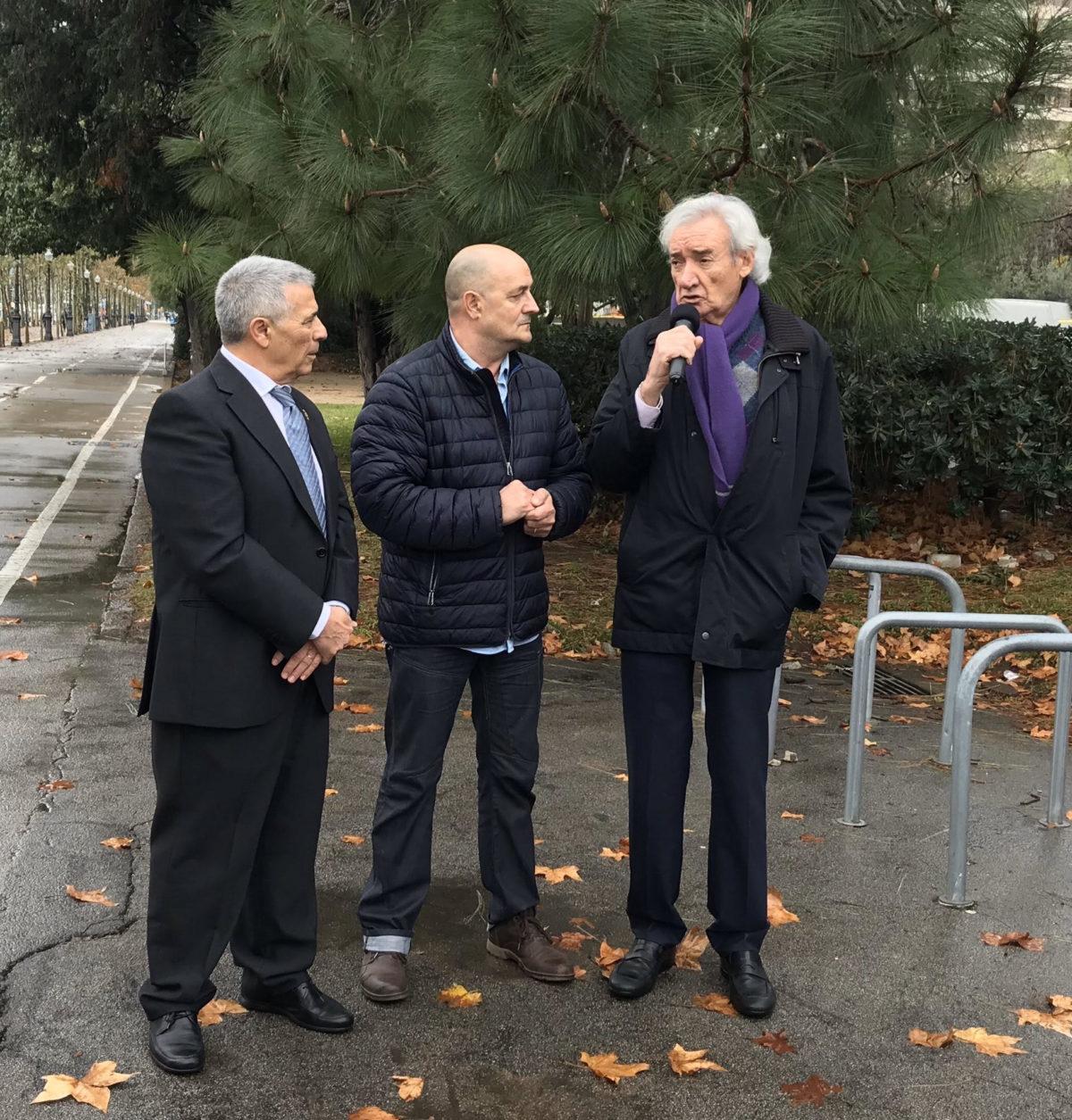 ACTO HOMENAJE AL POLICIA LOCAL DE BARCELONA, Juan Miguel Gervilla