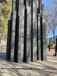 Monumento victimas Barcelona