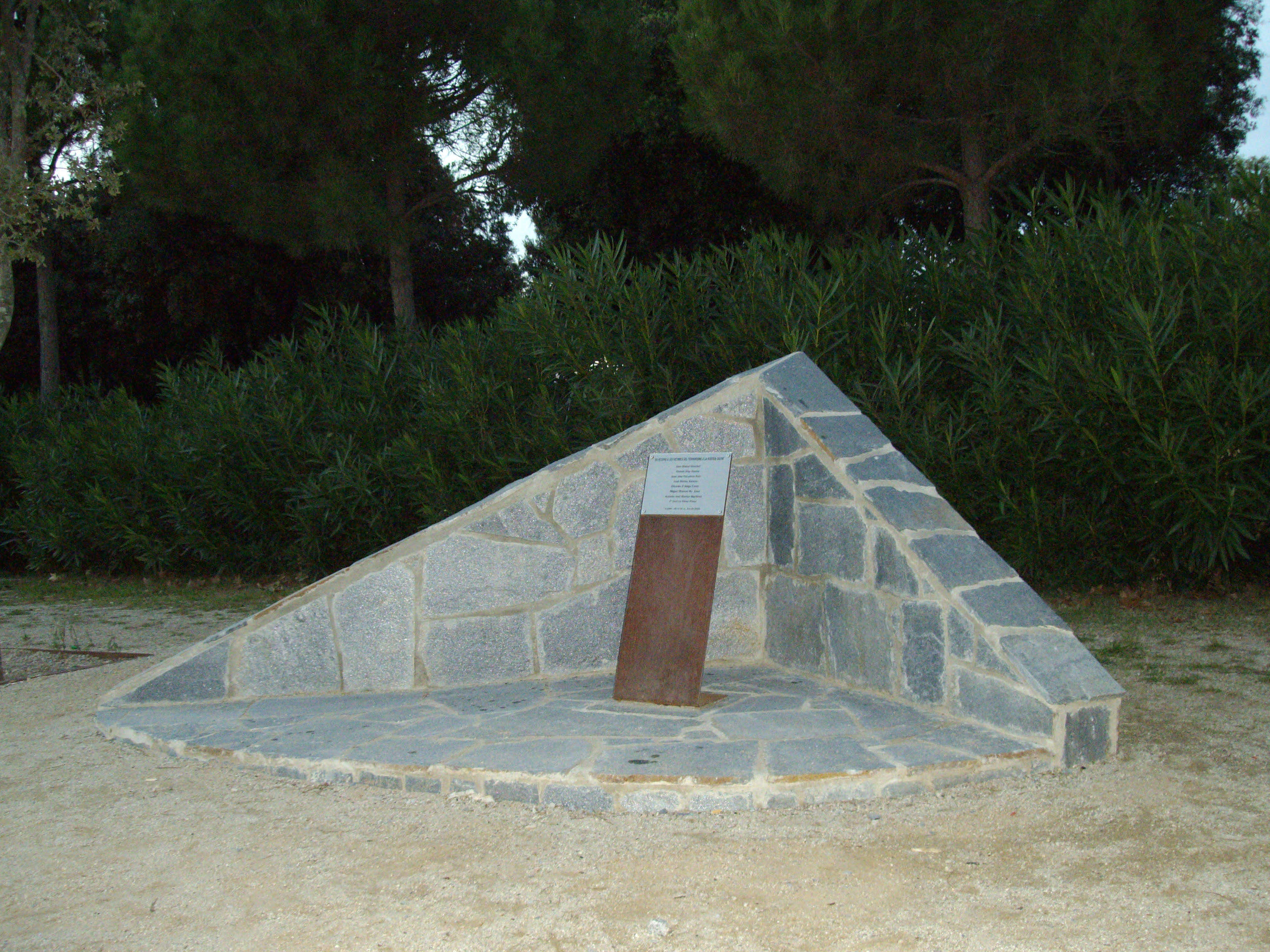 Sabadell: Monolito